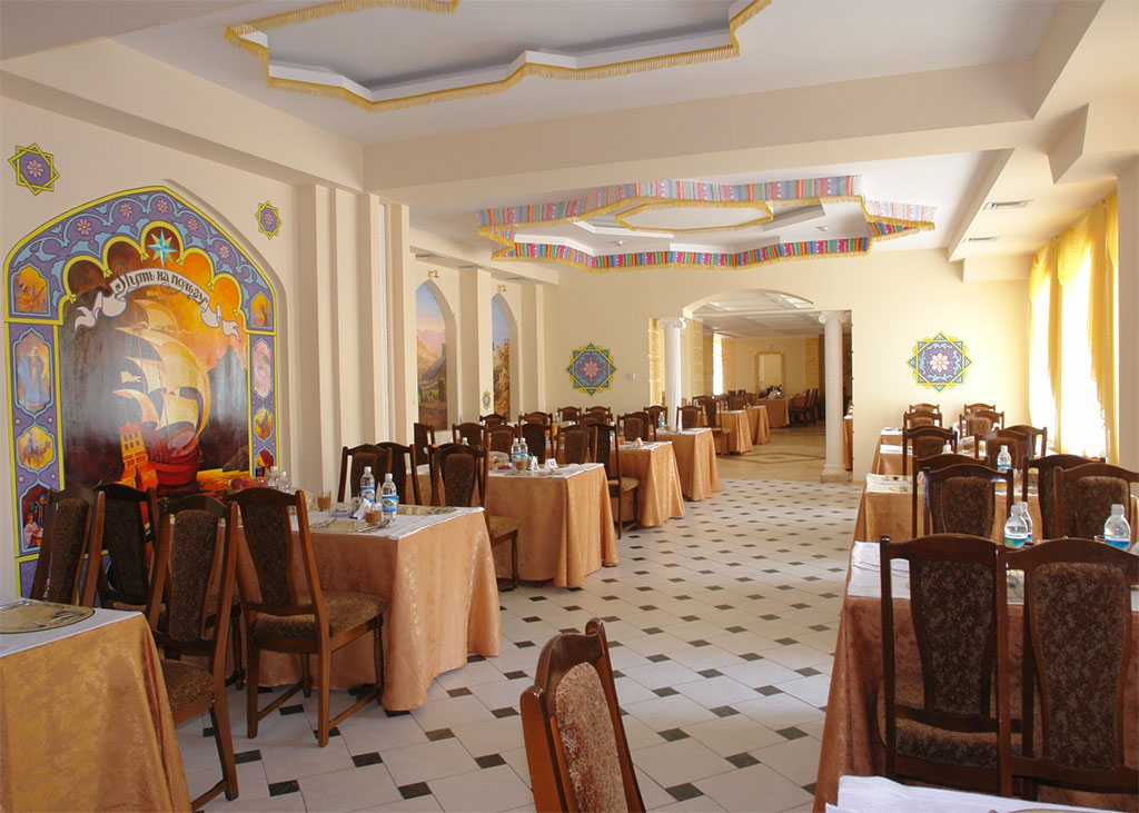 Restaurant «Silk road» in the TAHC «Sudak»