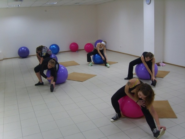 Fitness aerobics in the TAHC «Sudak»