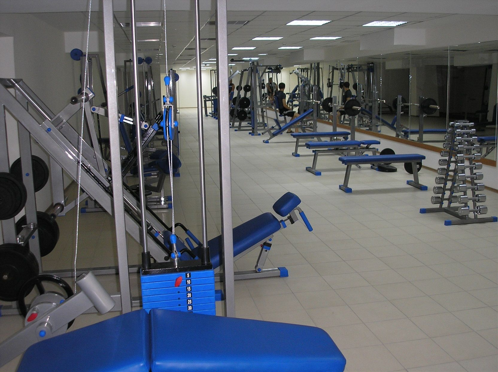 Gym in the TAHC «Sudak»